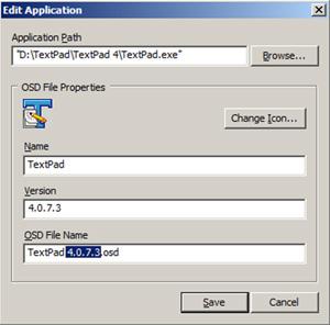 Comprobar las ruta, y renombrar el nombre del fichero OSD por un nombre en nomenclatura 8.3 (al estilo tradicional del MSDOS).