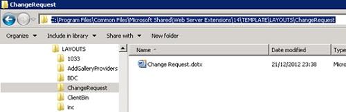 Muy importante. Realizado esto, ya sería posible desplegar la solución, aún sin tener ninguna Característica (Feature), de tal modo que conseguiríamos el despliegue de ficheros en SharePoint. En particular, conseguiríamos desplegar contenidos por debajo de la ruta C:\Program Files\Common Files\Microsoft Shared\Web Server Extensions\14\TEMPLATE\LAYOUTS de cada Frontal Web (es decir, en el sistema de ficheros en lugar de almacenarlo en Base de Datos), y a los que posteriormente podríamos acceder por debajo de /_layouts. Del mismo modo, el quitar la solución de la Granja (retract), los ficheros desplegados desaparecerían del sistema de ficheros de los Frontales Web.