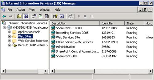 Como averiguar el Site ID de los Sitios Web de IIS