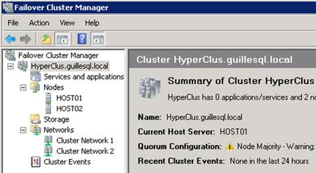 Este es el aspecto de muestra el Cluster que acabamos de crear