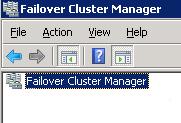 Al dejar la consola de Failover Cluster Manager abierta en uno de los Nodos del Cluster (a través de una conexión RDP), más tarde, al volver a dicha sesión RDP, te encontrabas con la consola de Failover Cluster Manager sin conexión con el Cluster