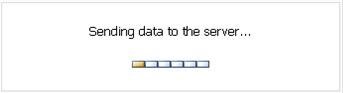 Se trata de un escenario SharePoint 2007 SP2 x64 en inglés (sin Language Packs) corriendo sobre Windows Server 2003 R2 SP2 x64. Tras la instalación del Service Pack 3 de SharePoint 2007, al revisar el entorno, descubrimos que al mostrar Formularios de InfoPath en el Navegador, al interactuar con cualquier control que necesite contactar con el servidor (es decir, hacer un PostBack), el formulario se queda colgado mostrando el mensaje Sending data to the server, tal y como se muestra en la siguiente pantalla capturada.