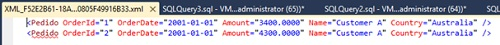 Sobrescribir el elemento ROW en una consulta SQL con la cláusula FOR XML RAW