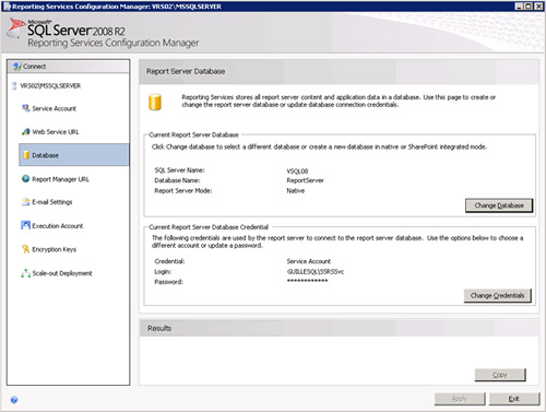 De vuelta a la página Database, podremos comprobar que la configuración de base de datos del segundo Nodo ha quedado realizada