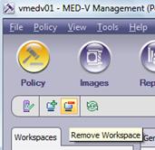 En nuestro caso, no nos interesa este Workspace, así que, lo eliminaremos