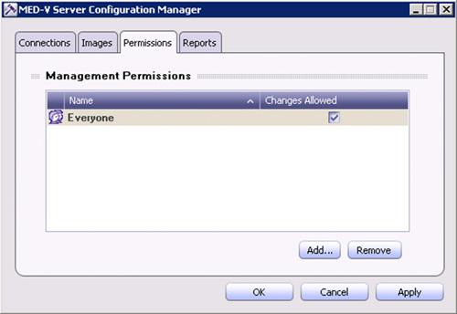 En la pestaña Permissions, podremos configurar quién tiene permisos de gestión