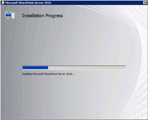 La instalación durará varios minutos, mientras observamos deslumbrados la correspondiente barra de progreso.