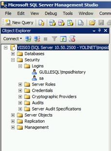 Además, aunque eliminemos el usuario original de Directorio Activo, mientras no eliminemos el Login del usuario original de nuestra base de datos MASTER, seguirá existiendo una entrada en sys.syslogins, por lo que el usuario migrado podrá seguir accediendo a SQL Server utilizando el SIDHistory.