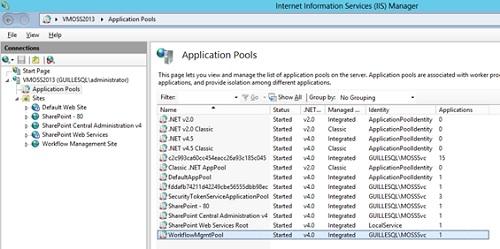 Llegados a este punto, si revisamos el IIS, podremos comprobar que se ha creado un nuevo Site y un nuevo App Pool.
