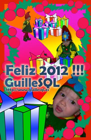 Disfrutar de estas fechas, pasarlo muy bien, y a empezar con ganas el nuevo año. FELIZ 2012 !!!